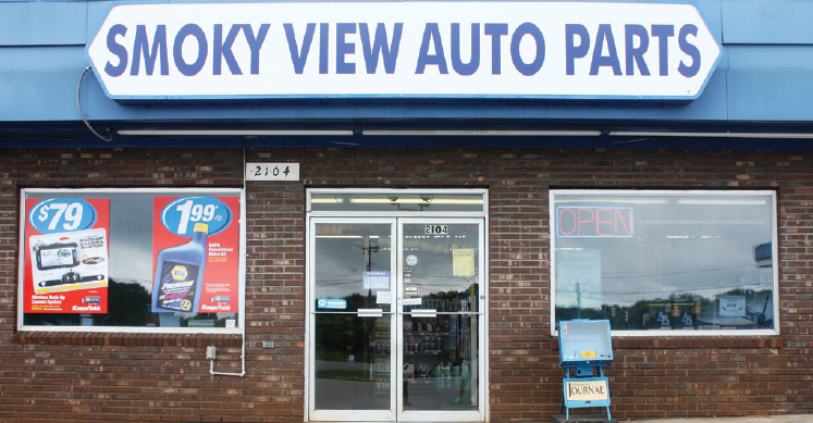 Smoky view auto parts in maryville tn 37801 for Alexander motors jackson tennessee