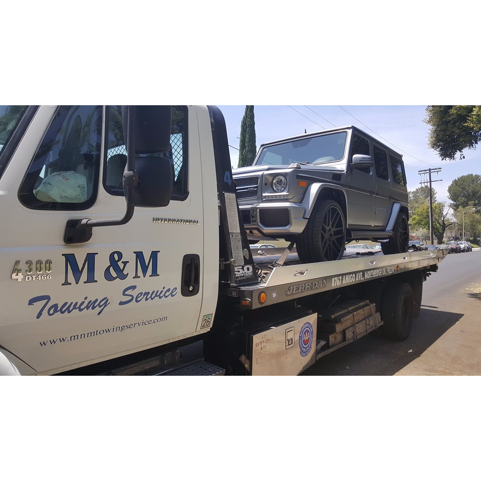 M&M Towing Service - Canoga Park, CA - Auto Towing & Wrecking