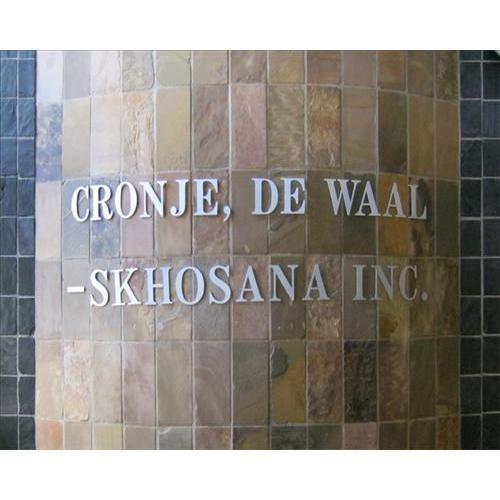 Cronje De Waal & Skhosana Ingelyf