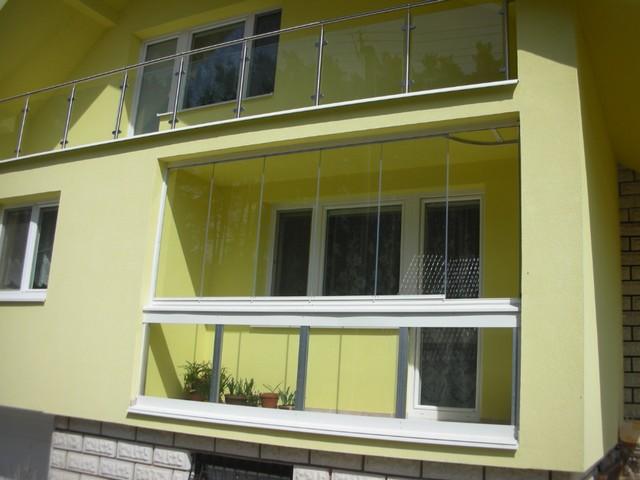 OKNO - PROJEKT - Balkónové systémy - Zasklievanie balkónov- Zimné záhrady