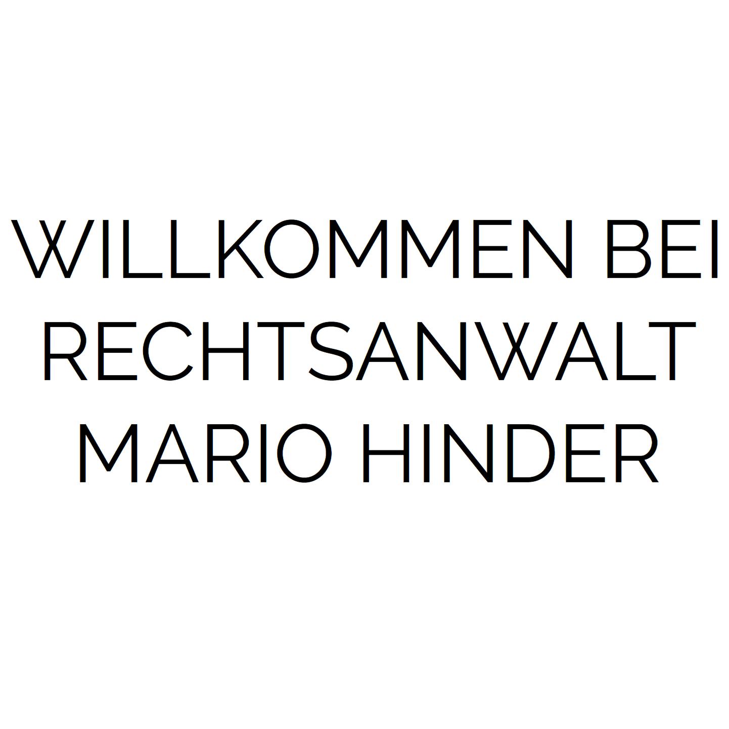 Bild zu Rechtsanwalt Hinder Mario in Hersbruck