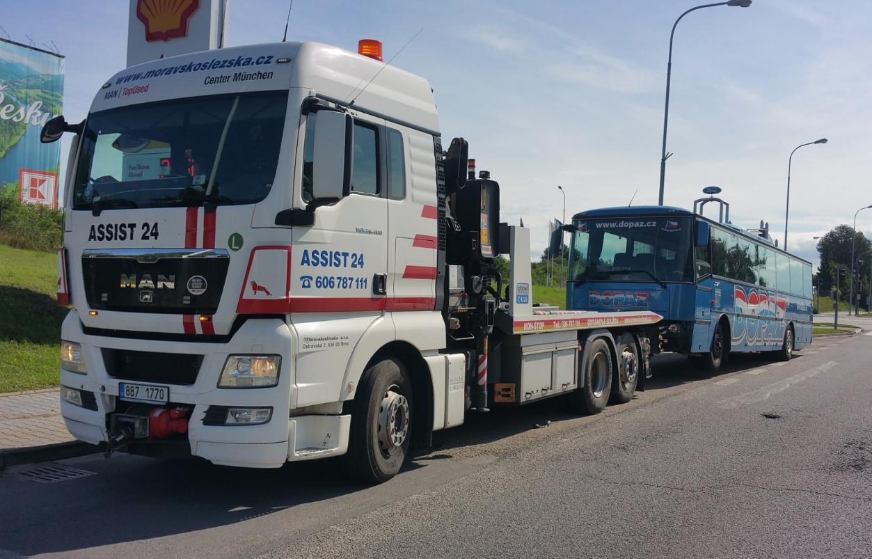 ASSIST 24 s.r.o. - odtahová služba Brno