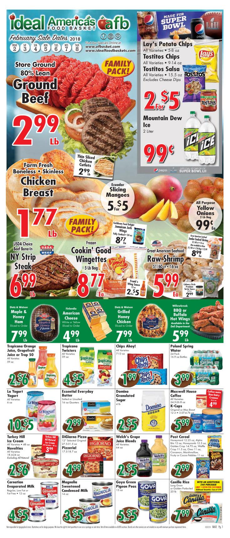 Americas Food Basket New Britain