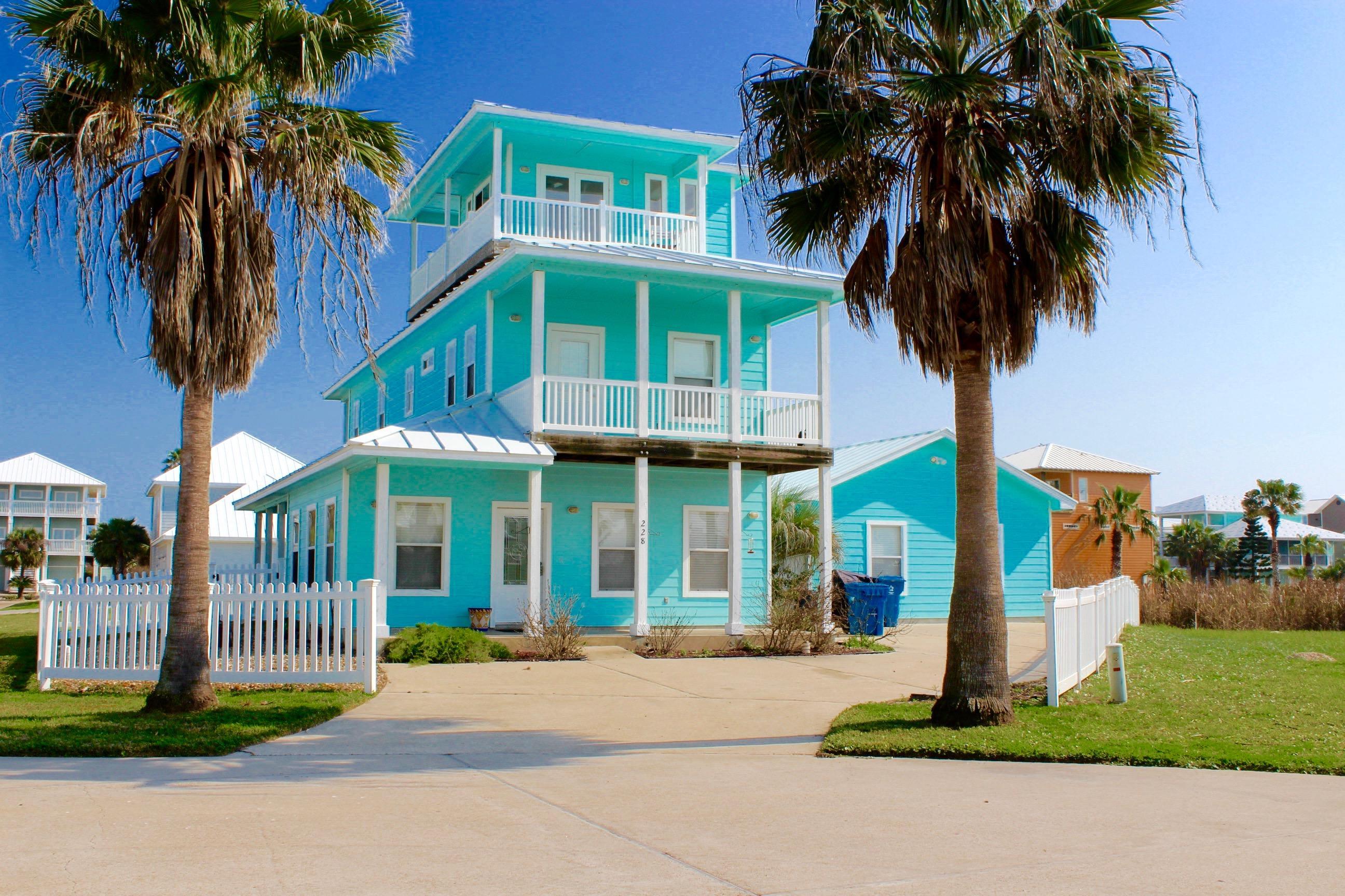Vacation Beach House Rentals In Port Aransas Tx