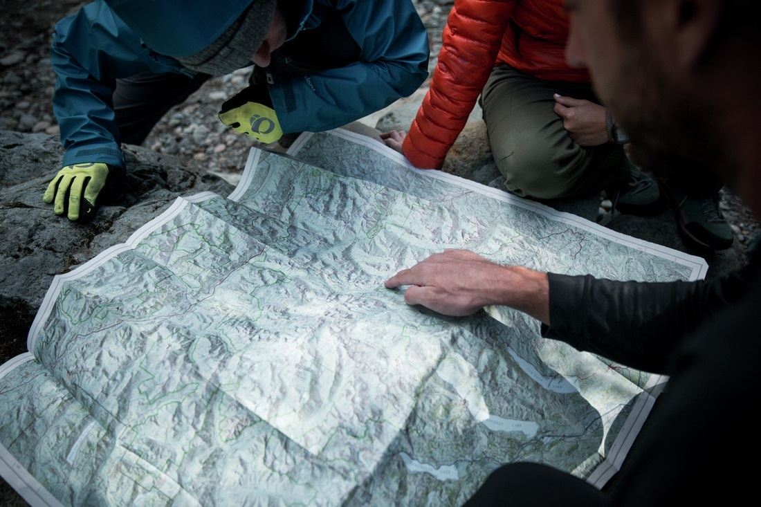 Backcountry Navigation With A Map & Compass