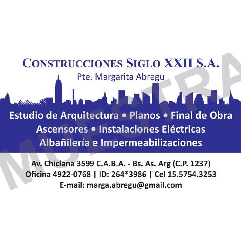 CONSTRUCCIONES SIGLO XXII