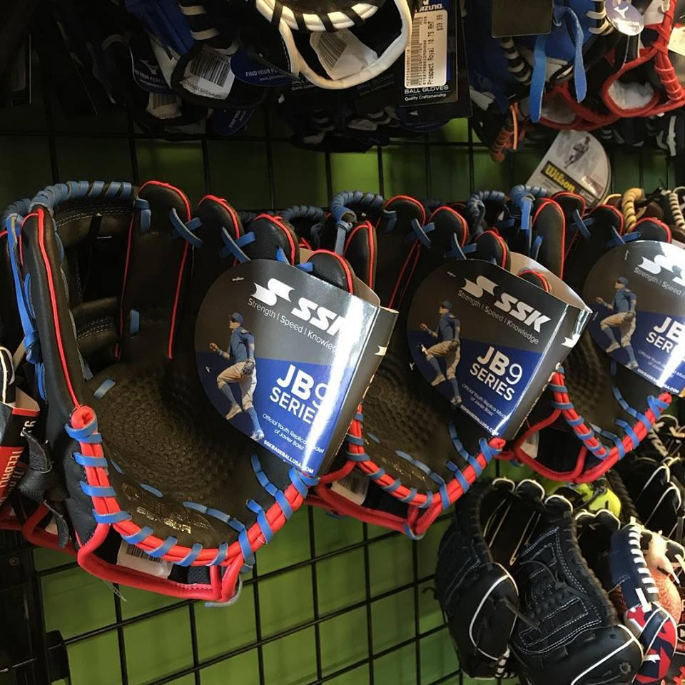 New youth baseball gloves in store now!