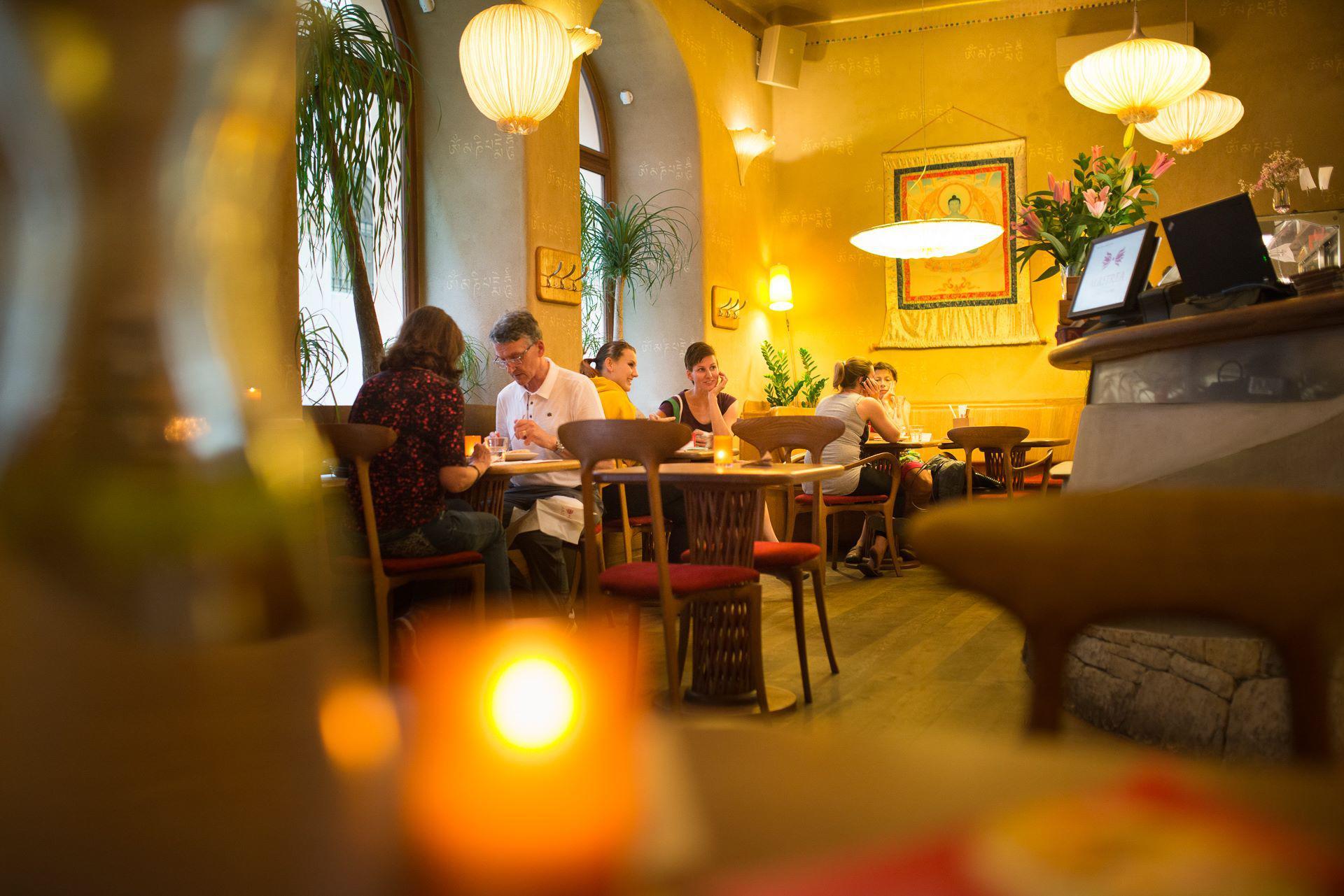 Restaurace Maitrea - vegetariánská restaurace