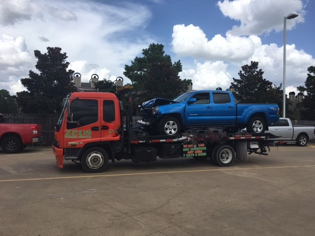 We Buy Damaged Cars All Around Houston, Texas. Free Towing With Every Purchase.