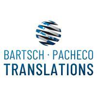 Bartsch Pacheco Translations - Fachübersetzungen und beglaubigte Übersetzungen für alle Sprachen