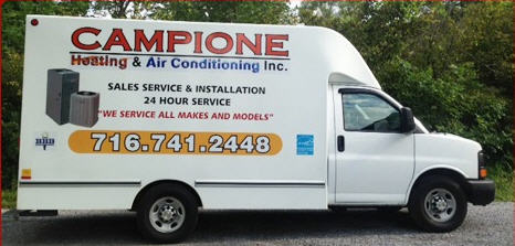 Campione Heating & Air Conditioning Inc - ad image
