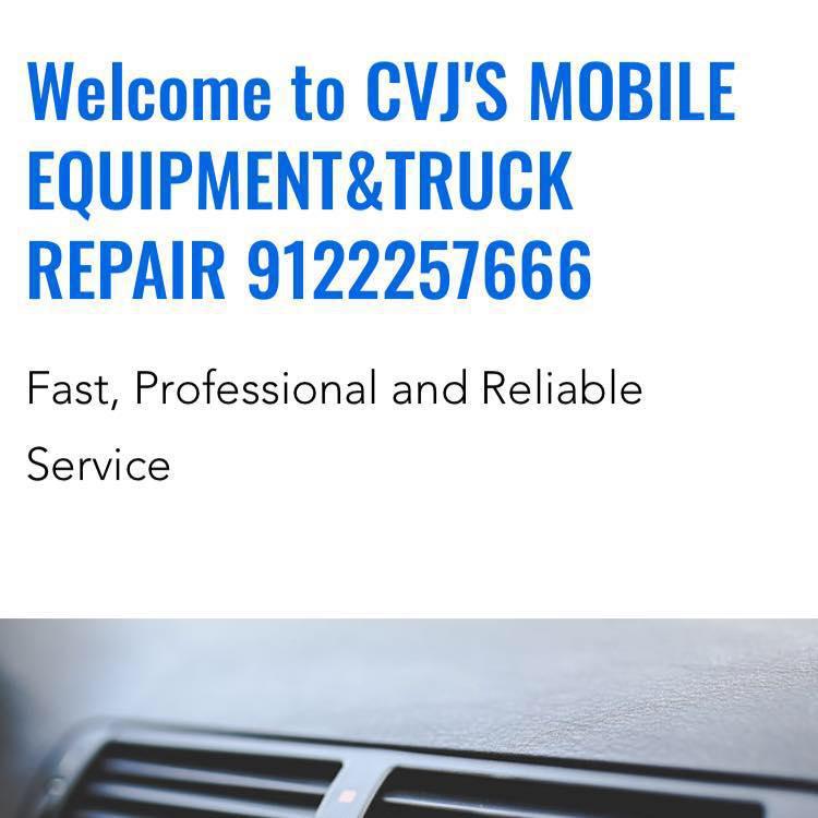 CVJ's Mobile Equipment & Truck Repair - Statesboro, GA 30461 - (912)225-7666   ShowMeLocal.com