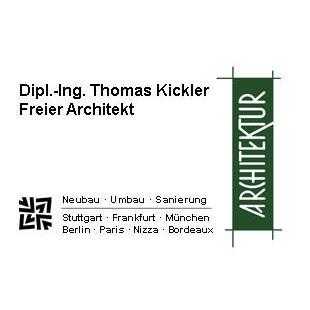 Bild zu Dipl.-Ing. Thomas Kickler Freier Architekt in Stuttgart