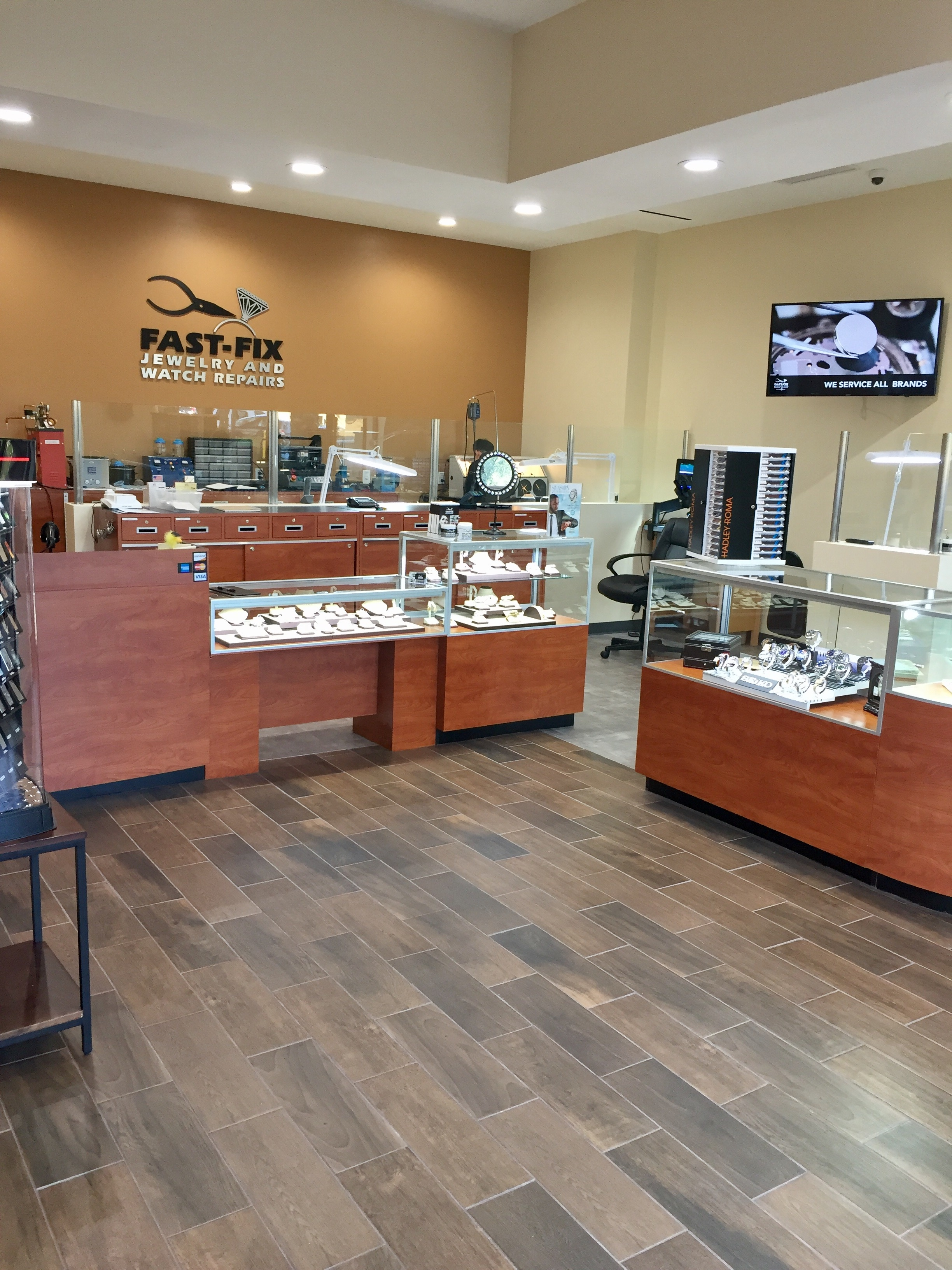 Fast fix jewelry watch repairs irvine coupons near me for Local jewelry stores near me