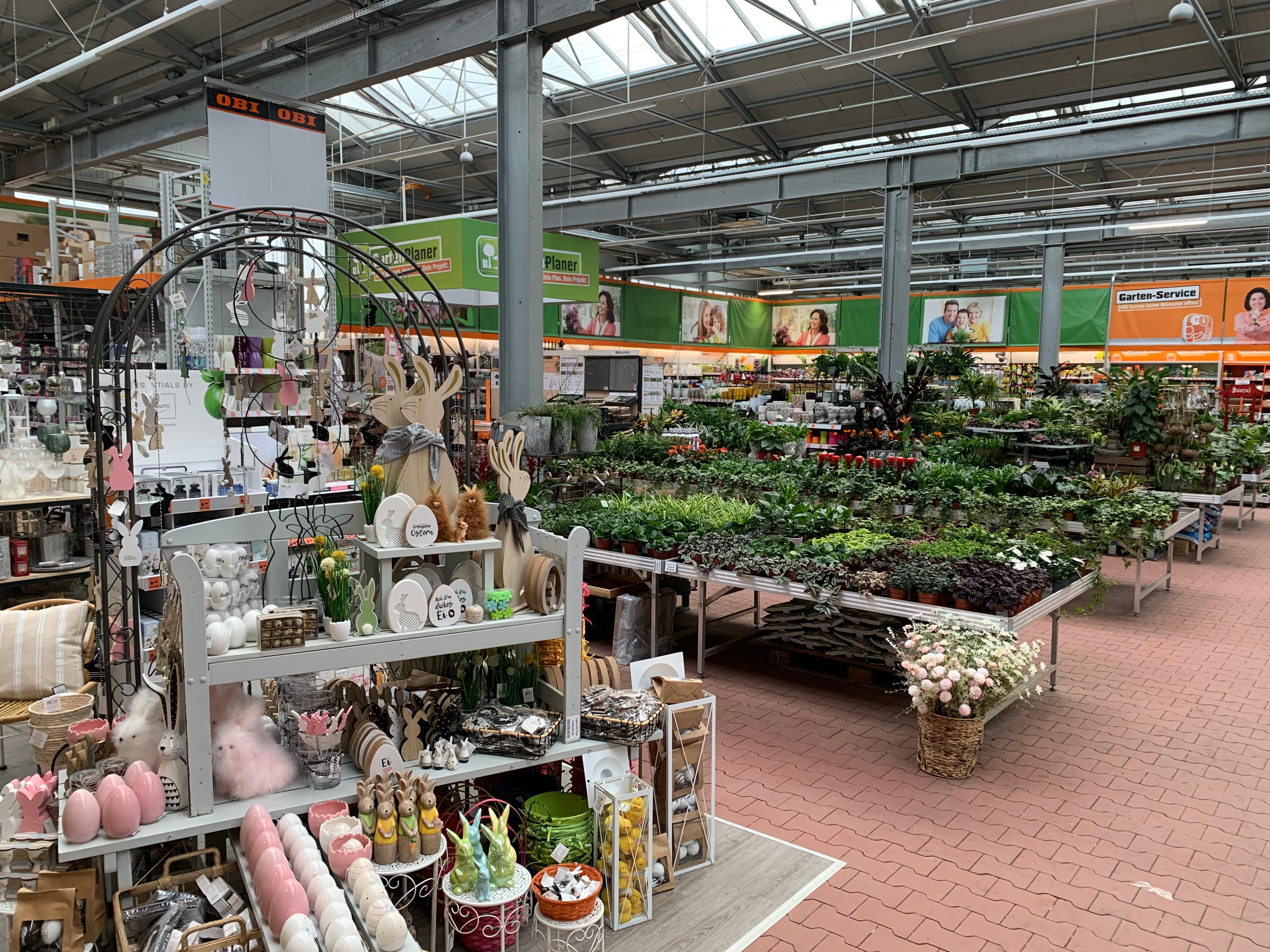 OBI Gartencenter Hamburg-Altona