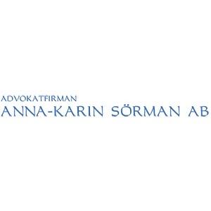 Advokatfirman Anna-Karin Sörman AB
