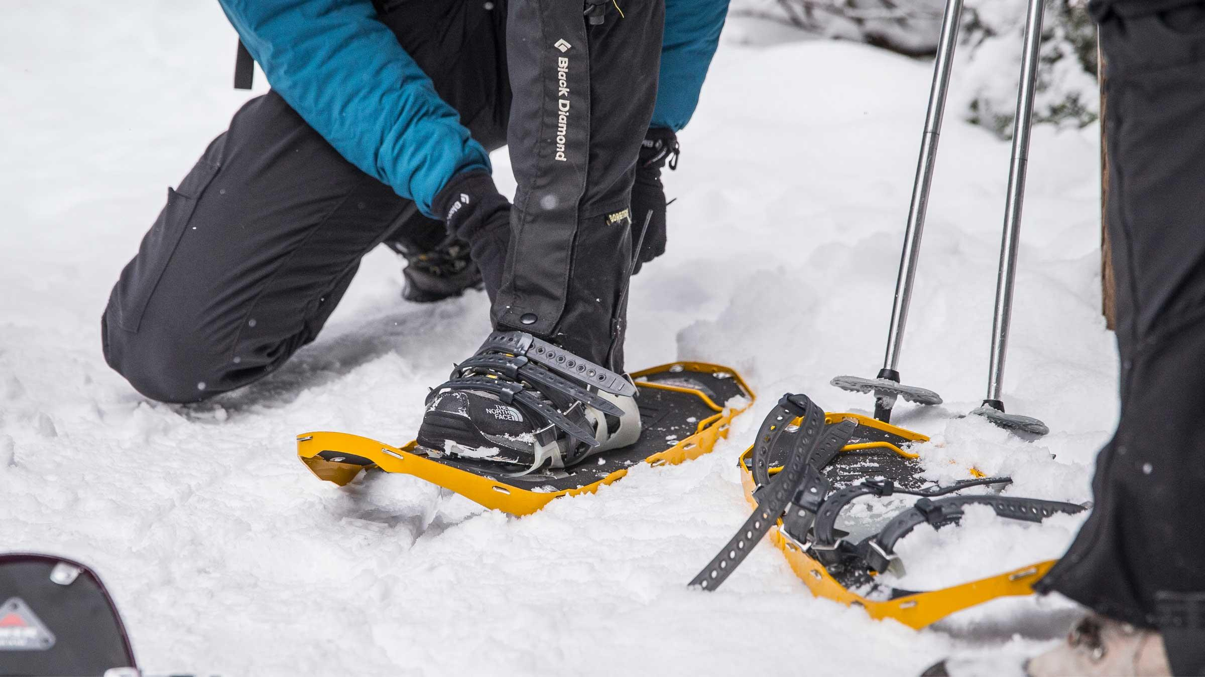 Winter Landscape Photography on Snowshoes