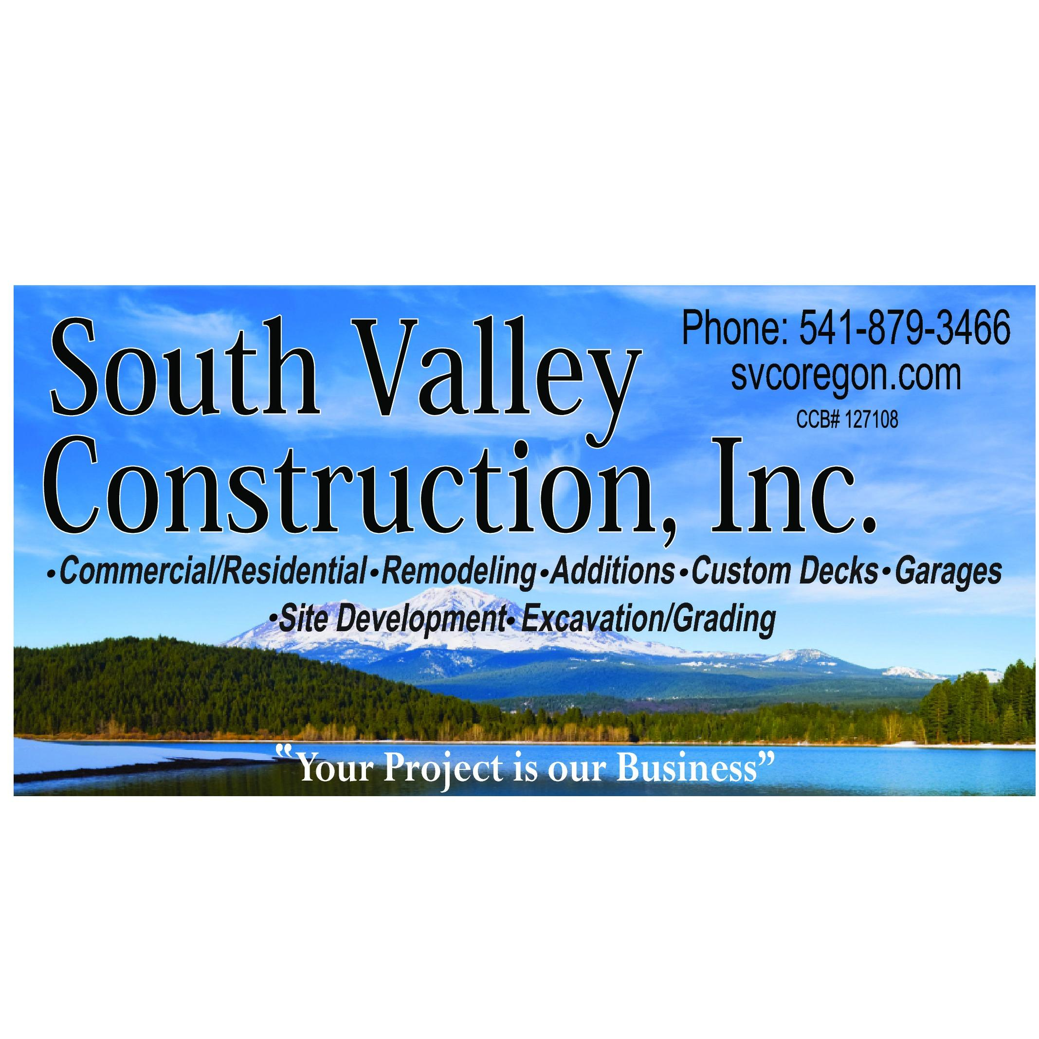 South Valley Construction - White City, OR 97503 - (541)879-3466 | ShowMeLocal.com