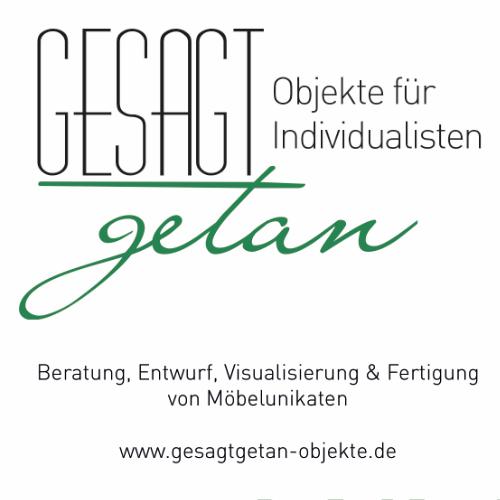 Bild zu Gesagt Getan GmbH & Co. KG Möbeldesign in Willich