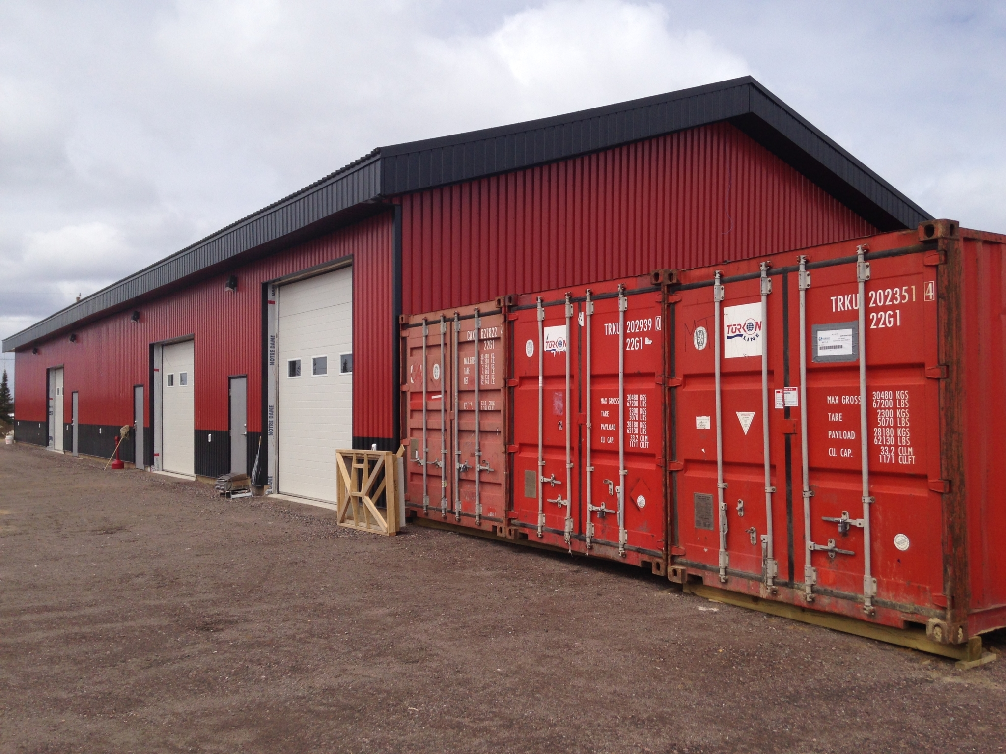 Northfield Builders Inc in Goose Bay: Equipment Storage