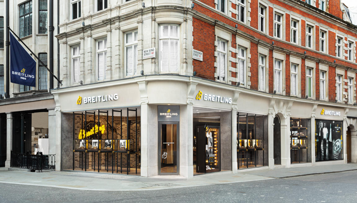 BREITLING BOUTIQUE LONDON BOND STREET