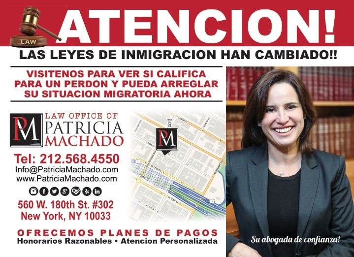 Law office of patricia machado p c in new york ny 10033 for 120 broadway 5th floor new york ny 10271