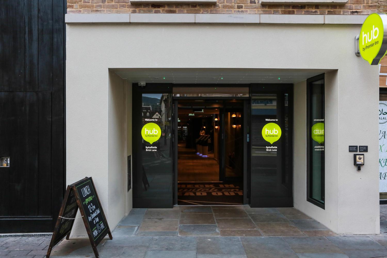 hub by Premier Inn London Spitalfields, Brick Lane hotel