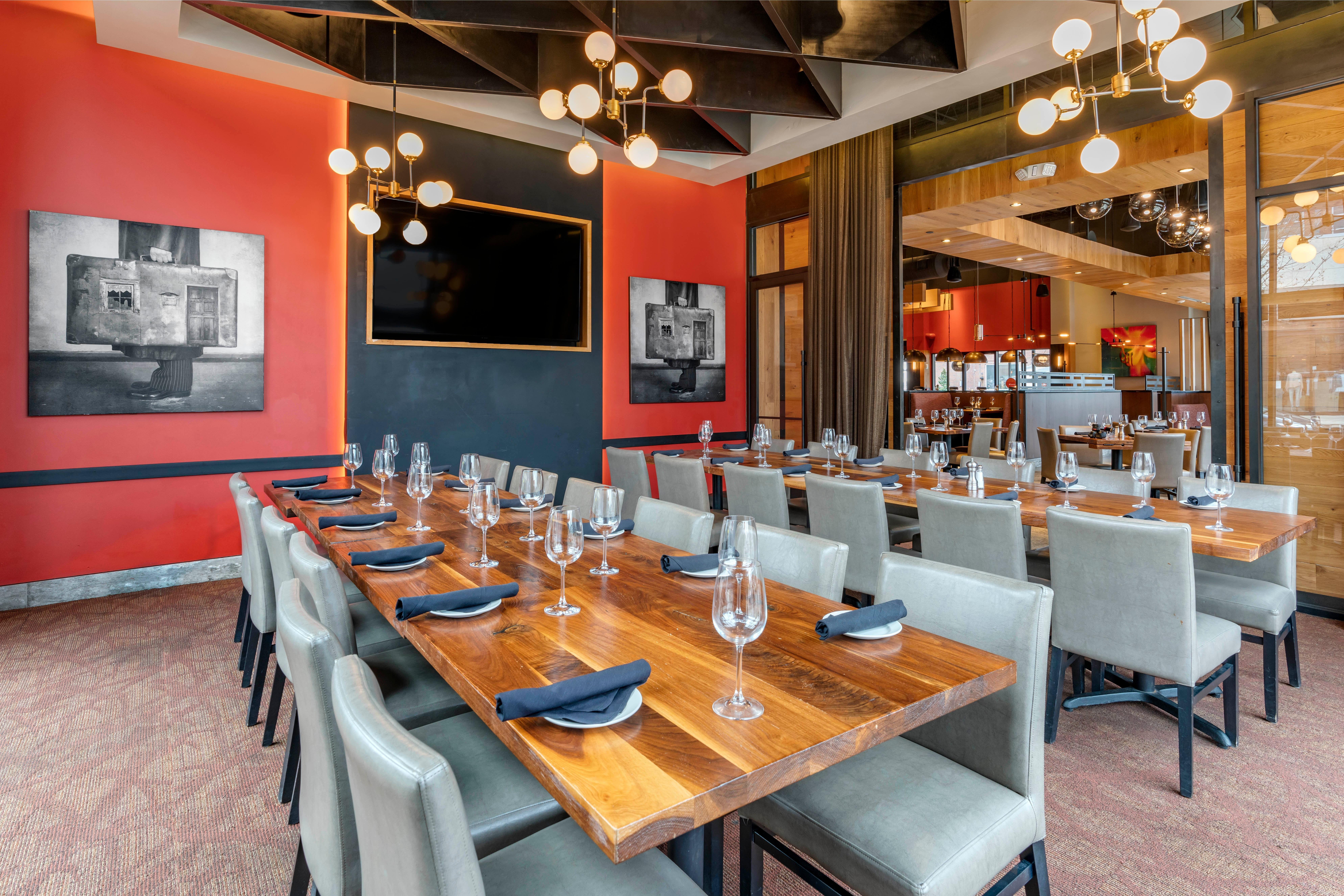 Del Frisco's Grille Brentwood Private Dining Room group dining room