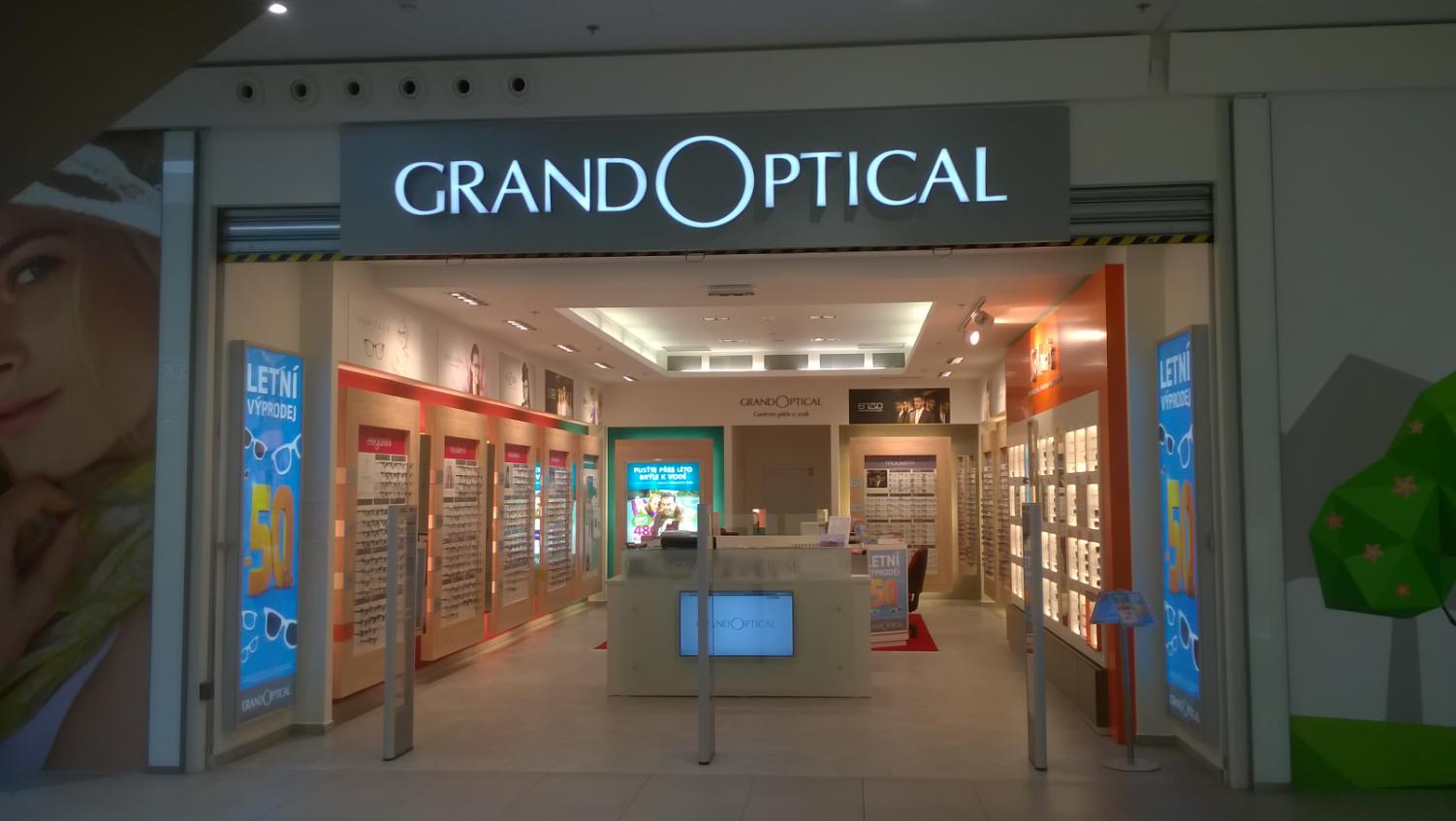 GrandOptical - oční optika Central Jablonec