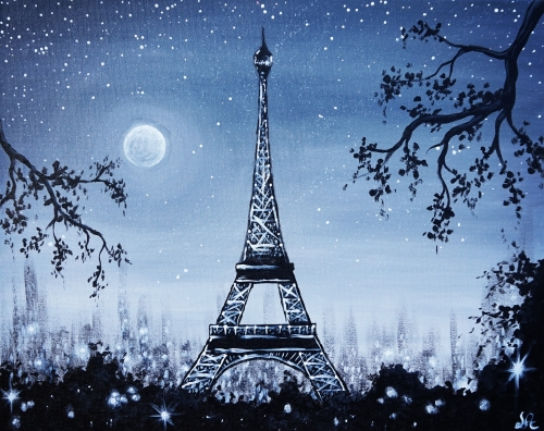 Paint Nite - Mimi's Cafe (Northridge) 01/18/2019