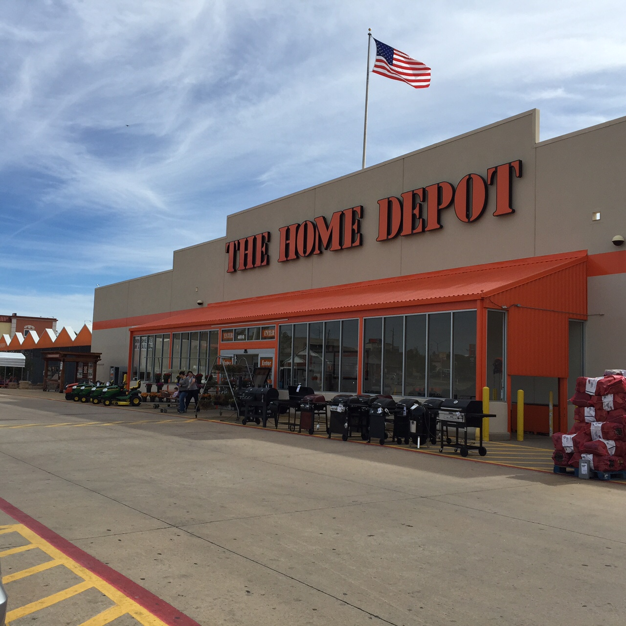 The Home Depot In Lawton Ok 73505