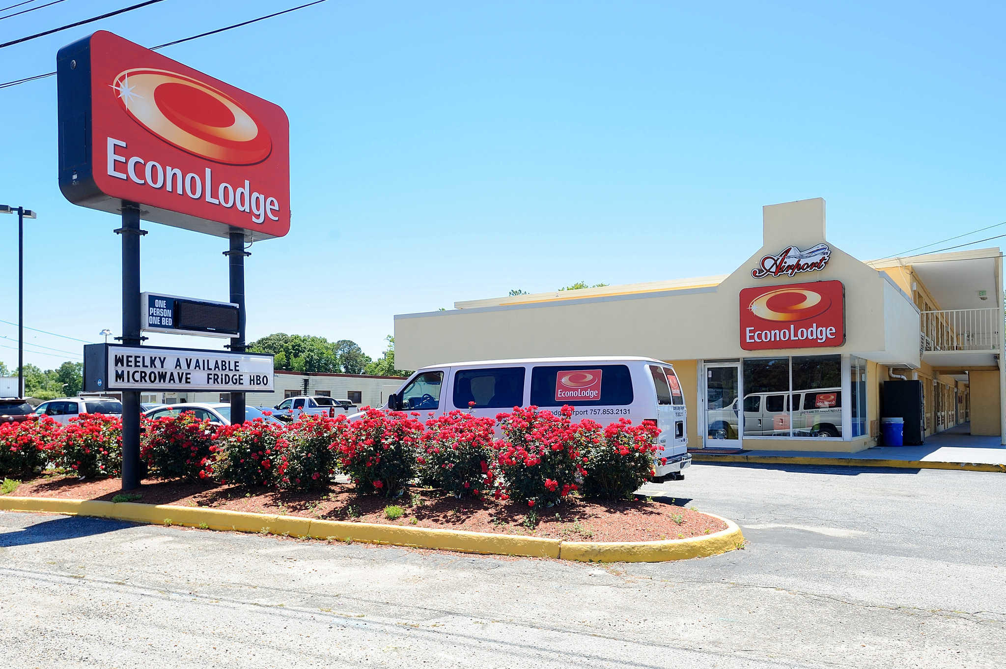 Econo Lodge Airport  Norfolk Virginia  Va