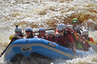 White Water Rafting Athelstane, WI - Wildman Adventures