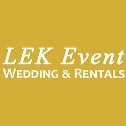 LEK Event Wedding & Rentals