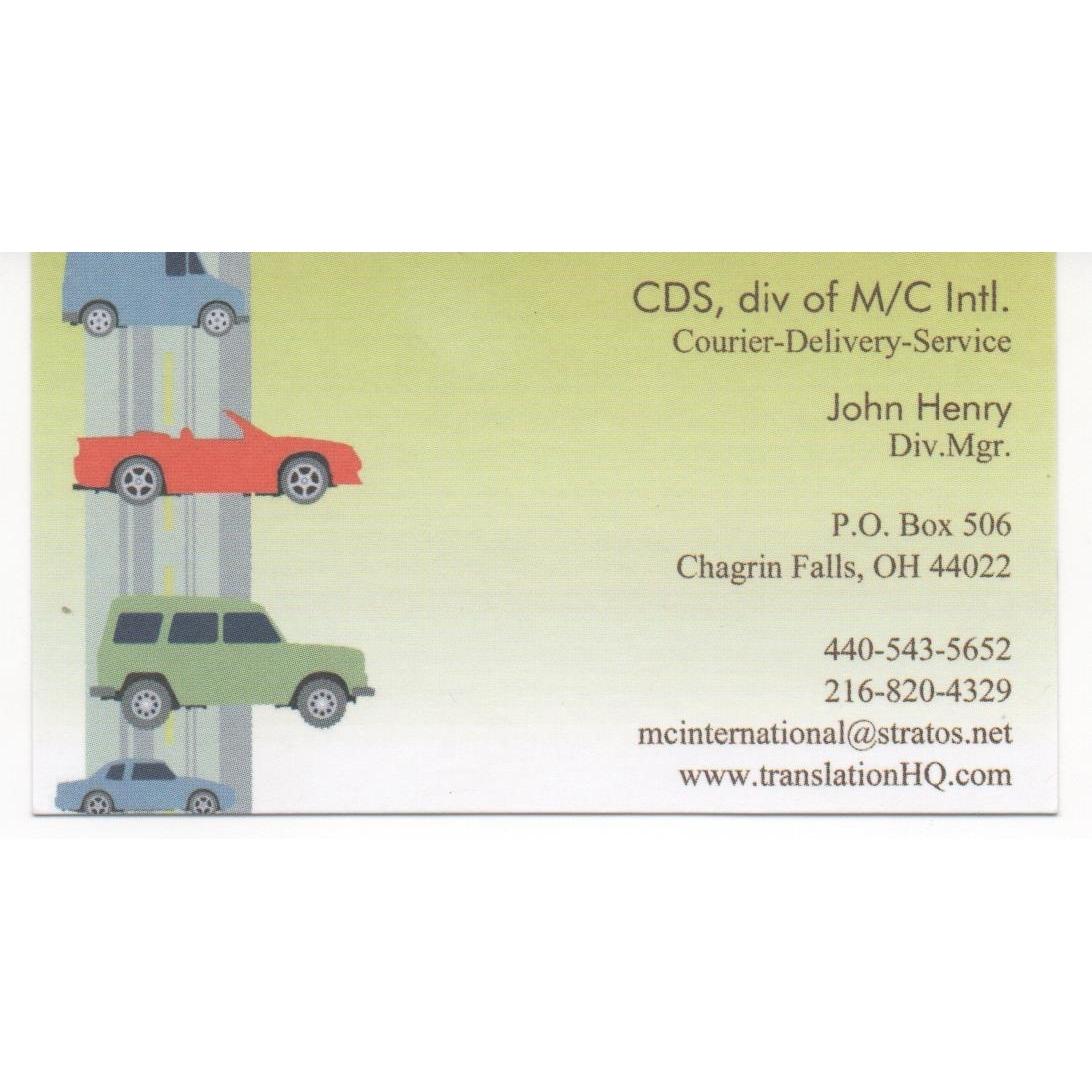 CDS-Courier -Delivery-Services, llc, div. M/C International