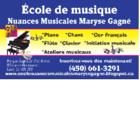 Ecole De Musique Nuances Musicales Maryse Gagné