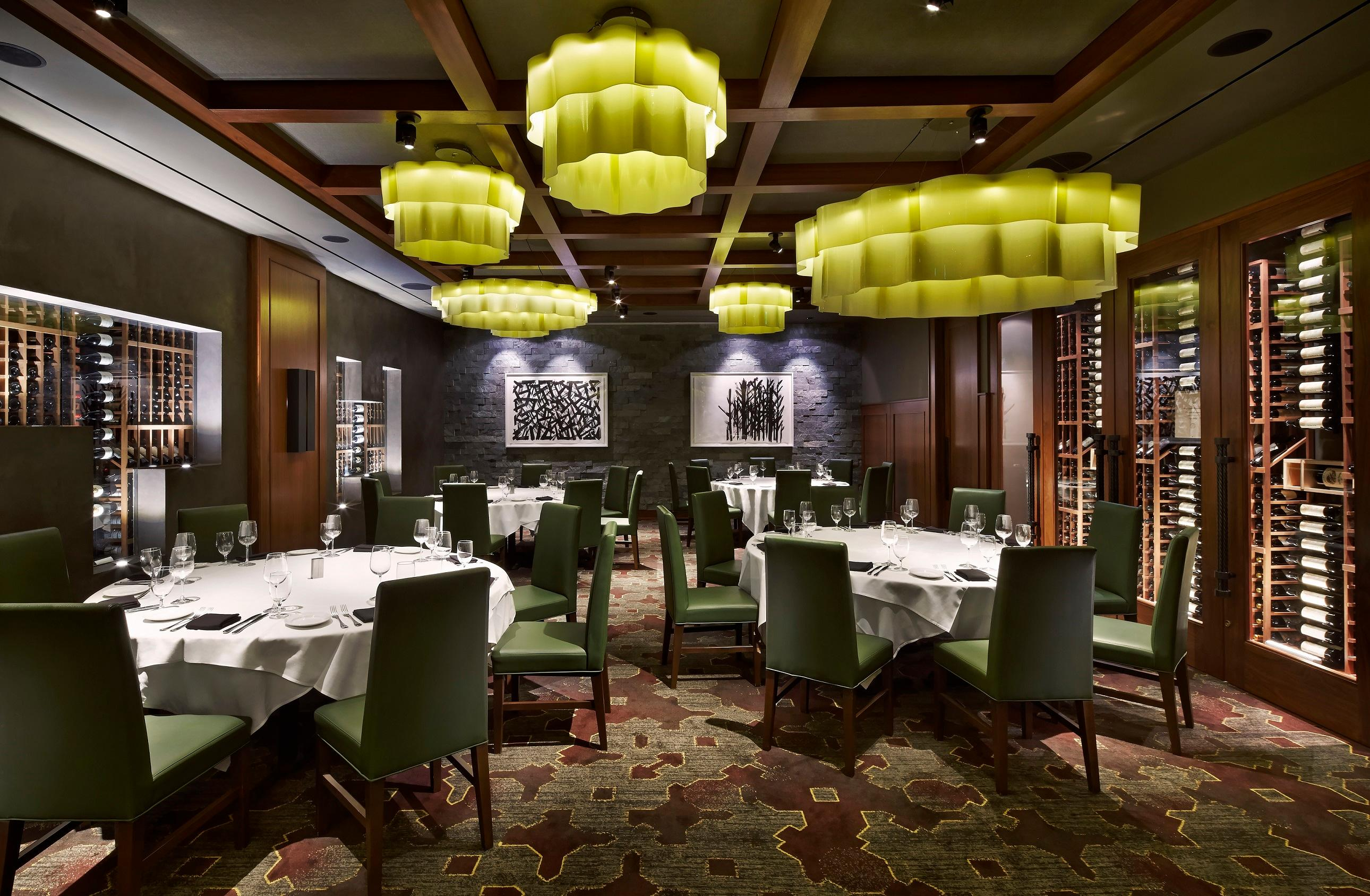 Del Frisco's Double Eagle Steakhouse Washington Capitol Room private dining room