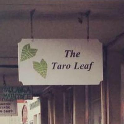 The Taro Leaf