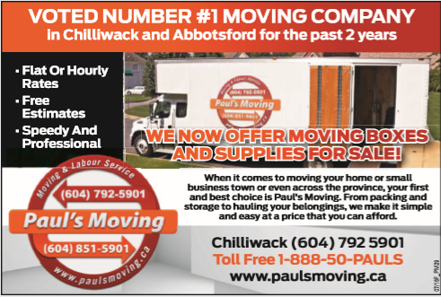 Images Paul's Moving and Labour Services LTD.