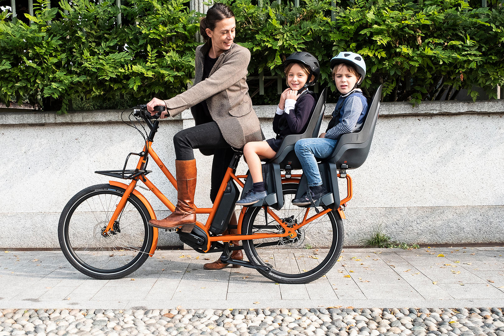 Privat-Referenz: Unser Besteller-Modell ein kompaktes Lastenrad das bis zu 200 kg transportiert erfreut sich großer Beliebtheit bei Familien.