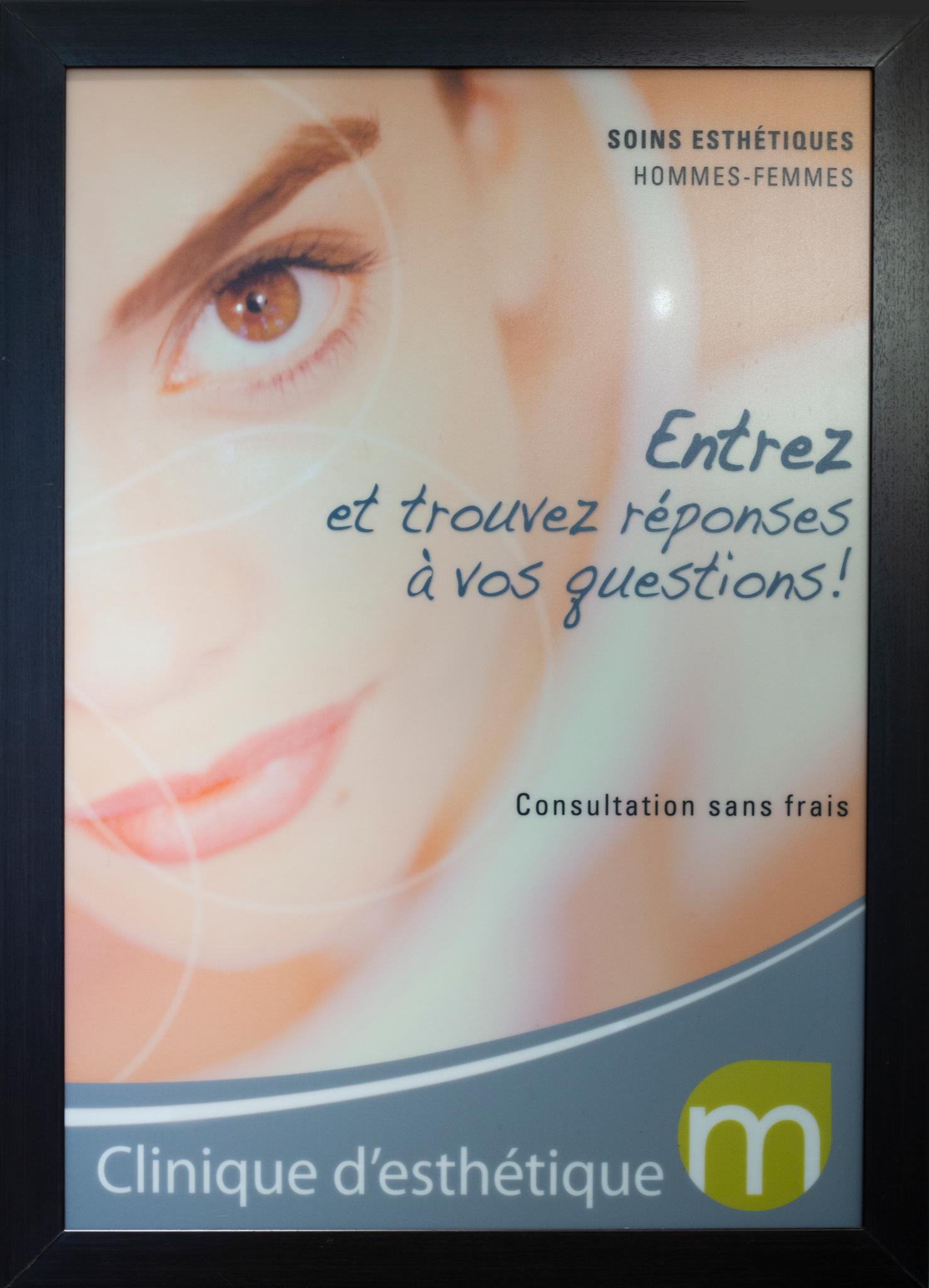 Clinique d'esthétique m à Laval