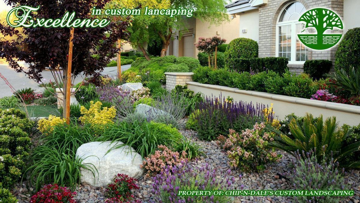 Chip n dale 39 s custom landscaping en las vegas nv for Garden design las vegas