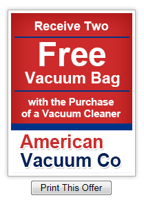 American Vacuum Co Sales Amp Service Coupons Near Me In