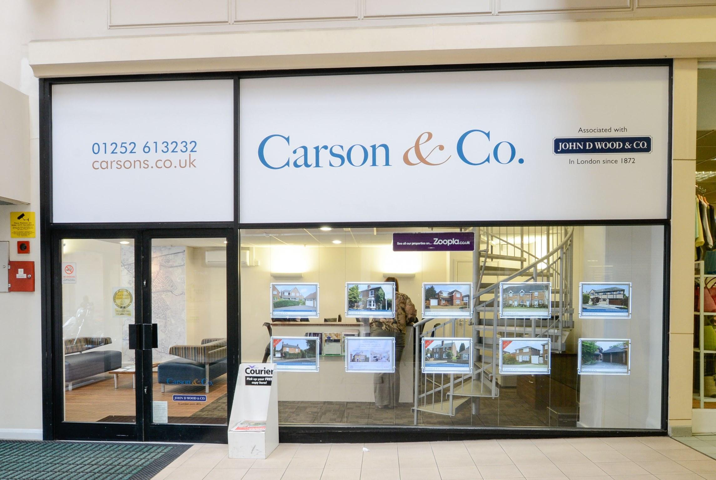 Carson & Co. Estate Agents Fleet