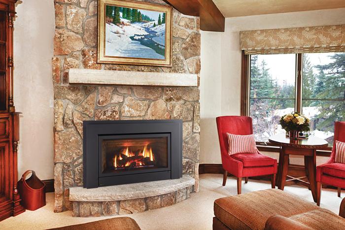 Fireplace Gallery in Edmonton: Regency E33 Large Gas Fireplace Insert