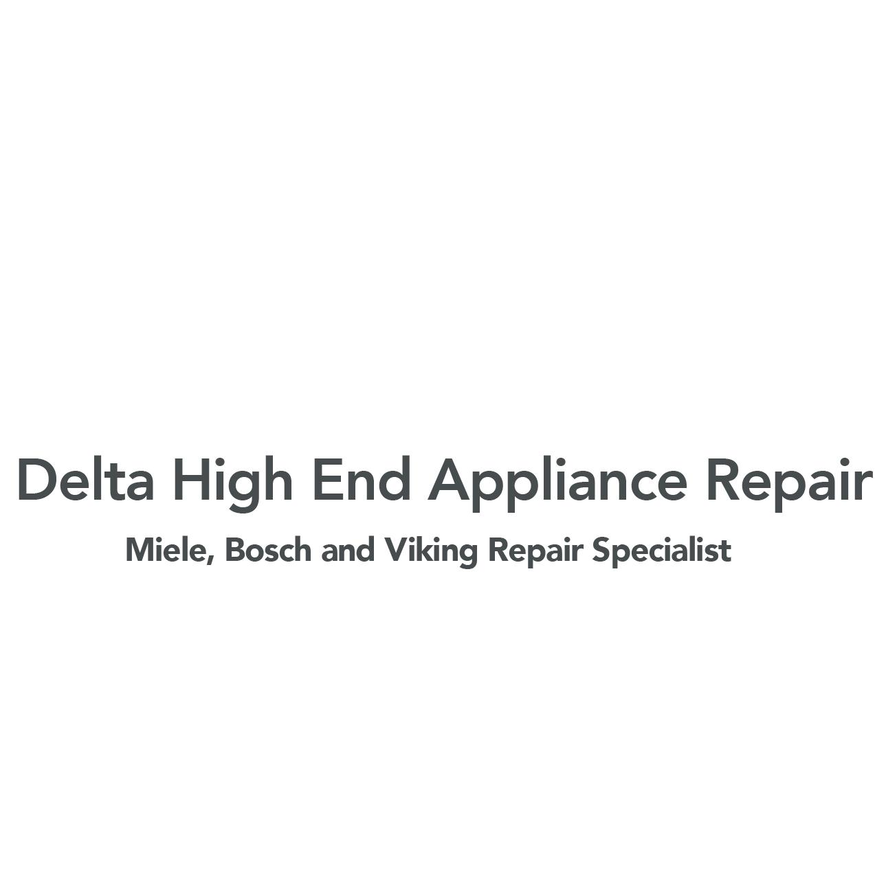 Delta High End Appliance Repair