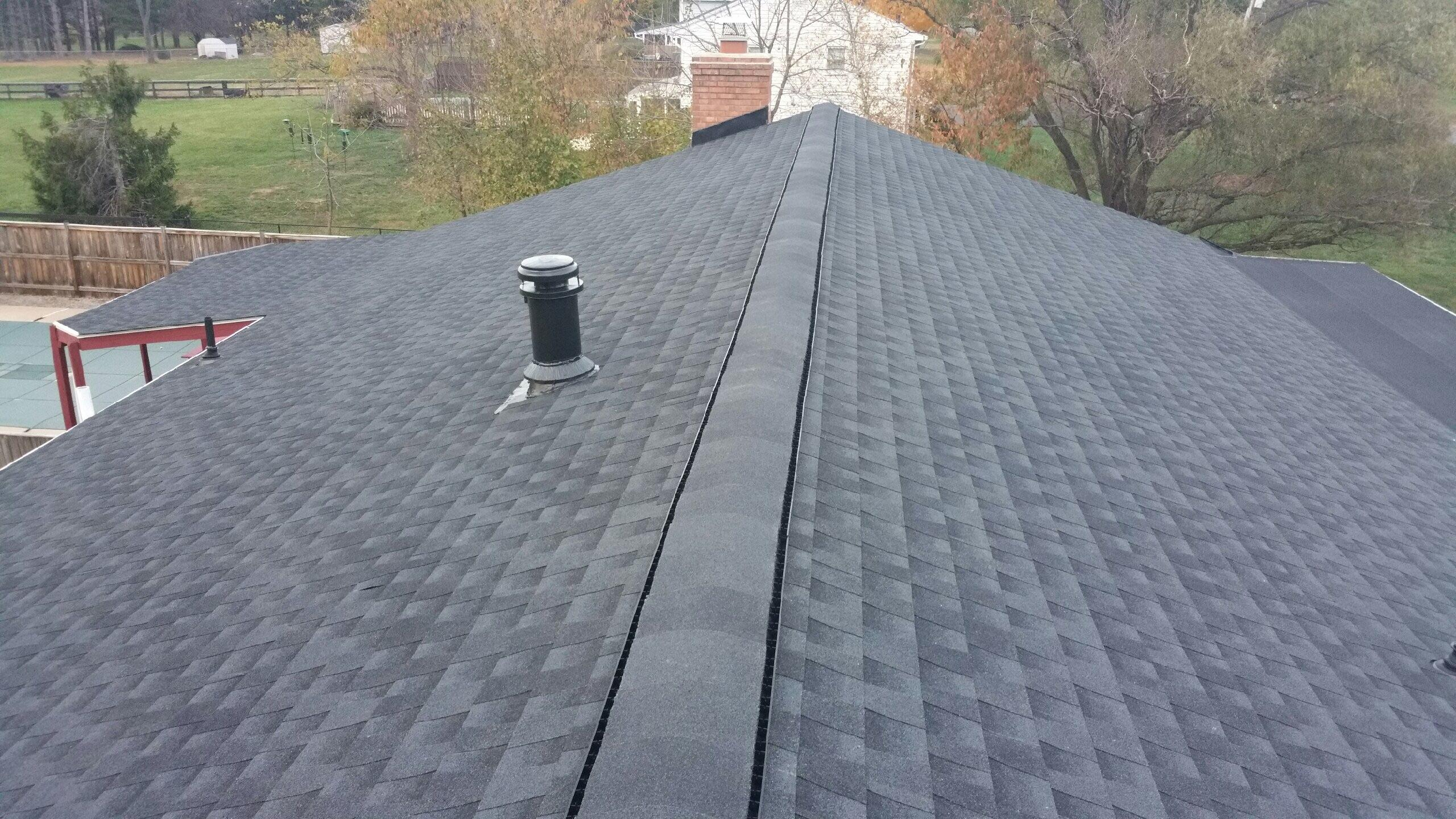 Successfully replaced roof!