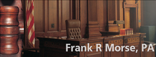 Frank R. Morse Attorney at Law - ad image
