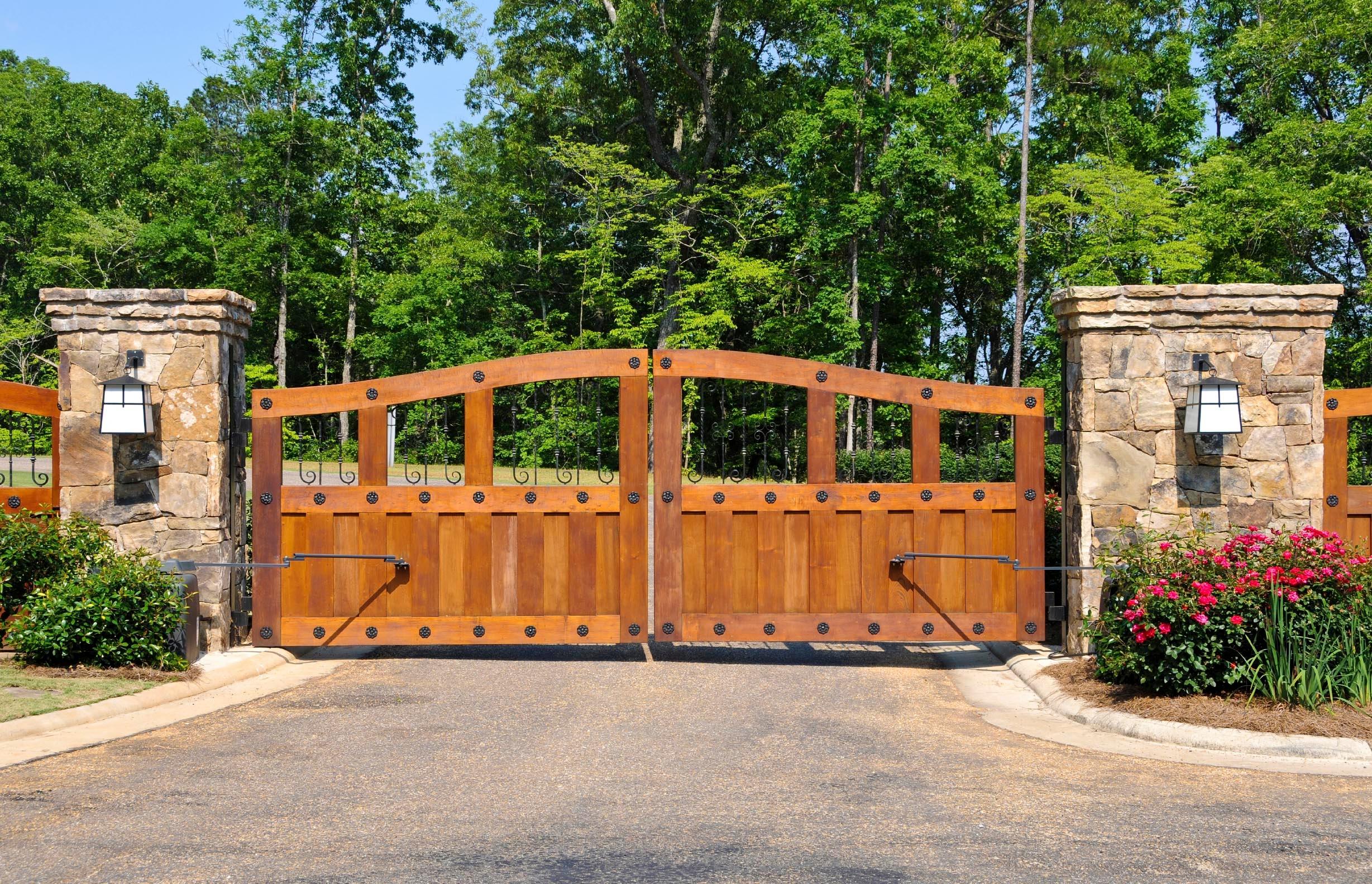 Будинки ворота купить ворота для дома откатные