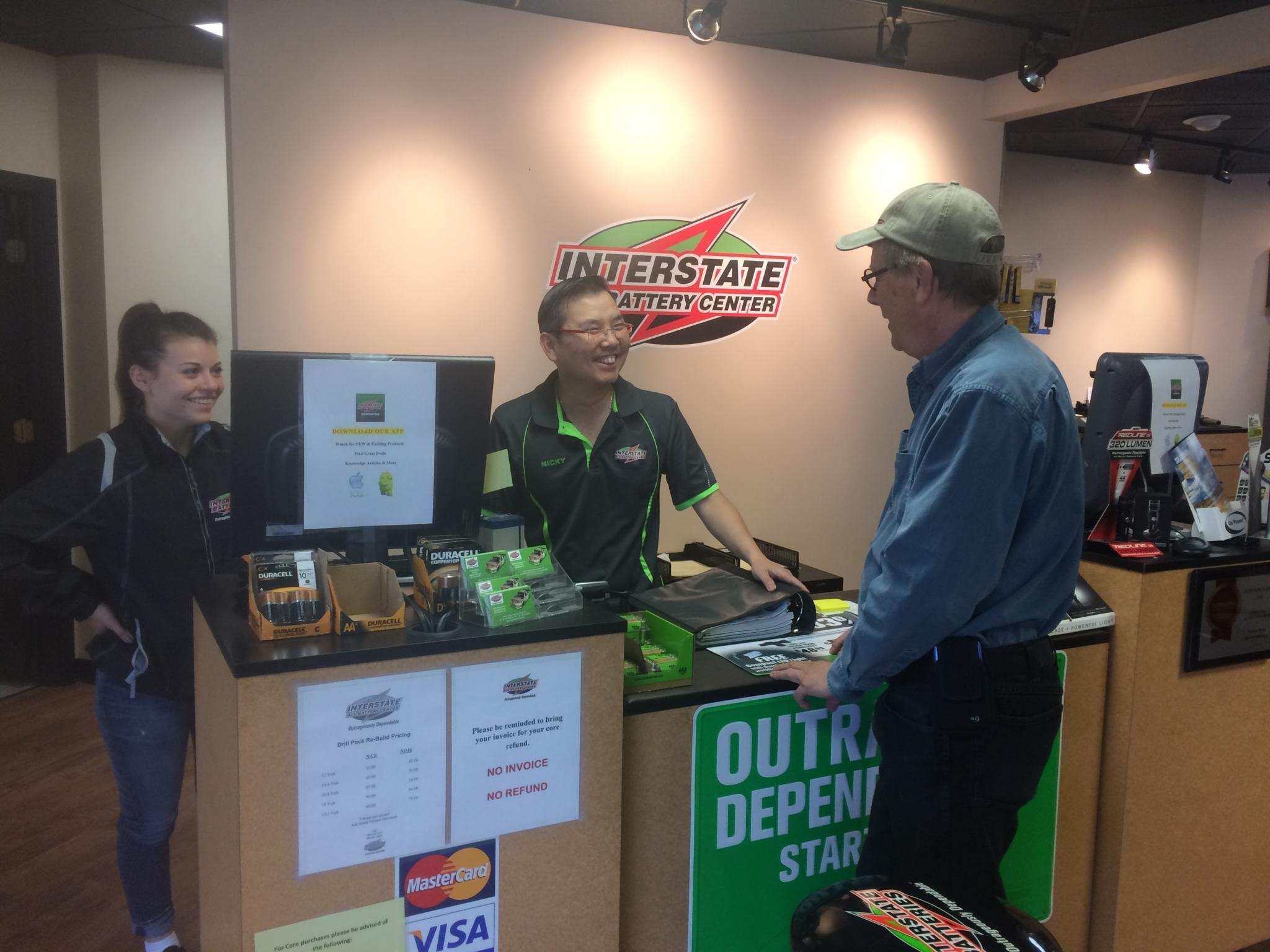 Interstate Batteries Front Counter Interstate Batteries Edmonton (780)454-4343